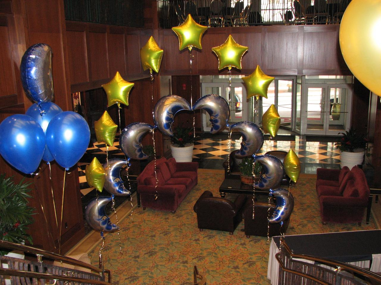 Bouquets Balloons New Years Decorations Ballons