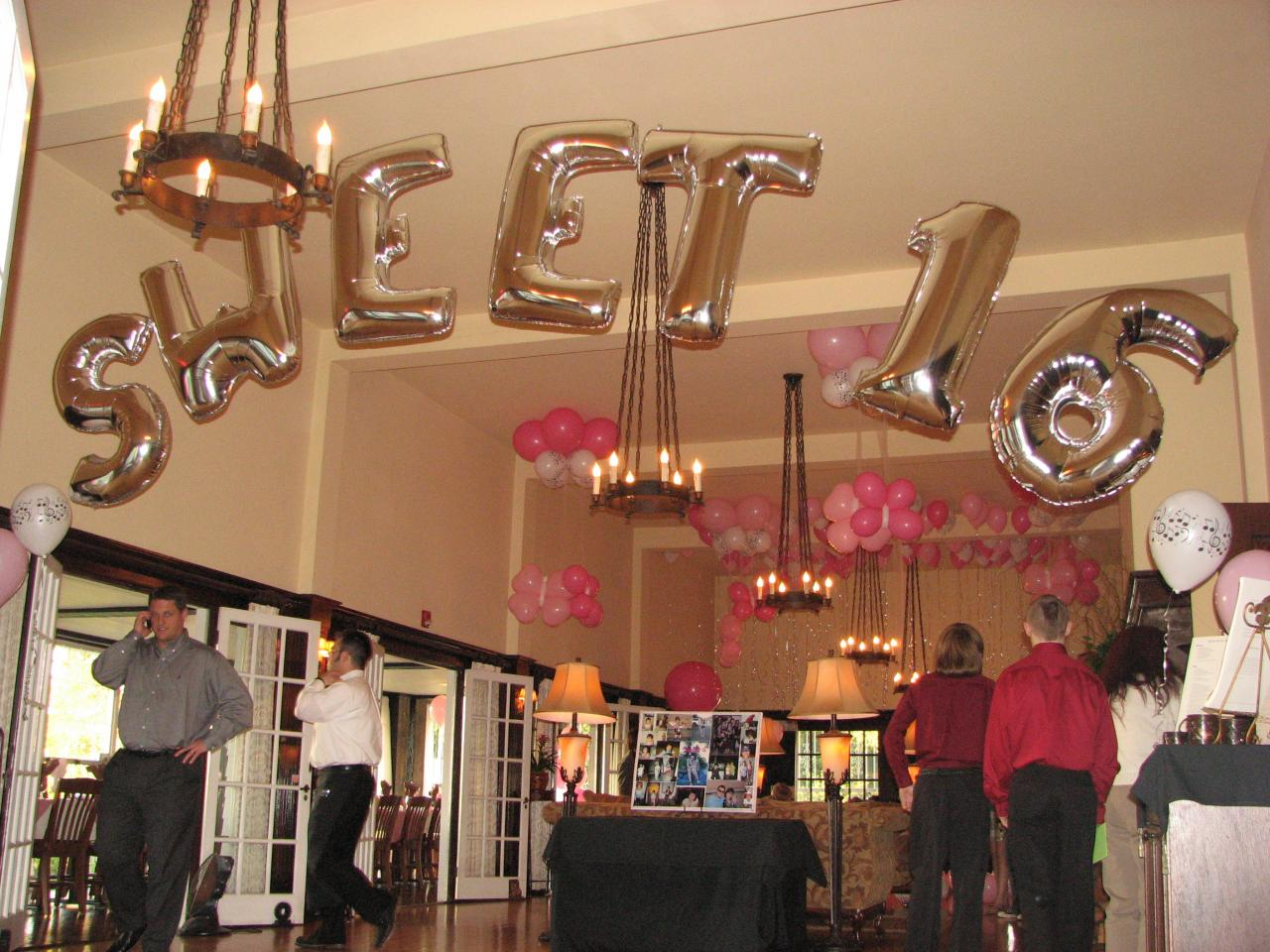 Bouquets balloons portland balloons wedding balloons for Balloon decoration ideas for sweet 16